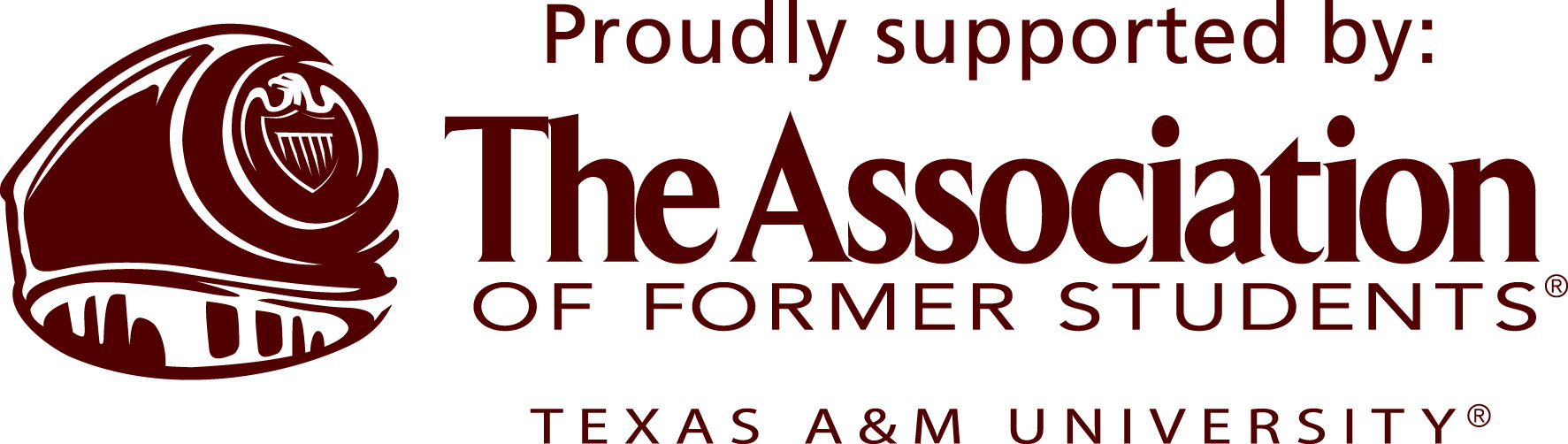 Logo: Proudly Supported by The Association of Former Students