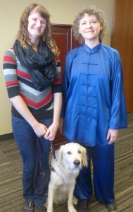 Photo: Kaitlyn Kellermeyer and Suzanne Droleskey, her Tai Chi Instructor