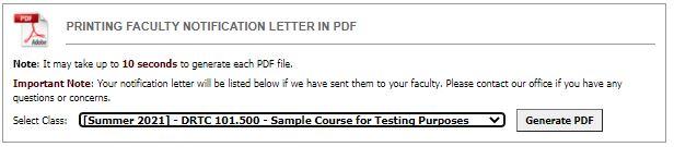 Screenshot: Download FNL in PDF format